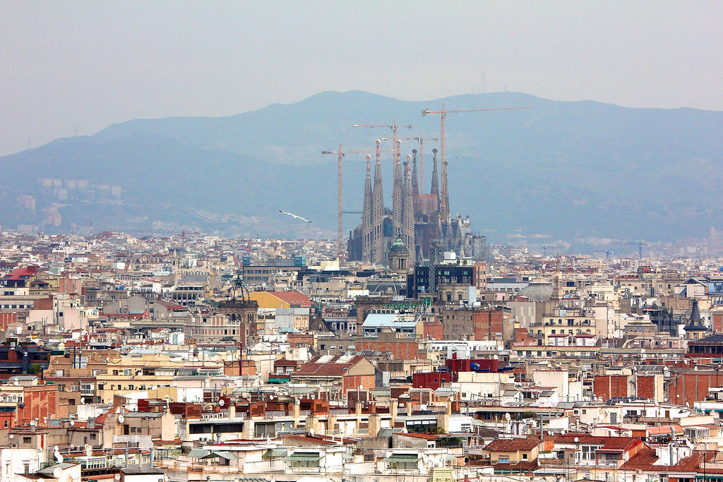 Sagrada Familia, Barcelona<br /> Copyright 2011, Tom Farmer