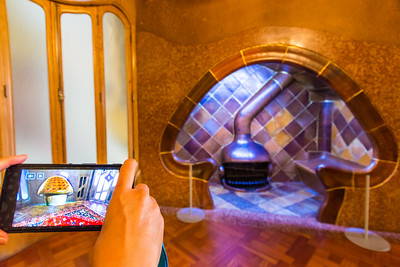 Casa Batlló: virtual reality shows the design inspiration of the mushroom shaped hearth