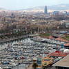 Barcelona marina from the Aeri<br /> Copyright 2011, Tom Farmer