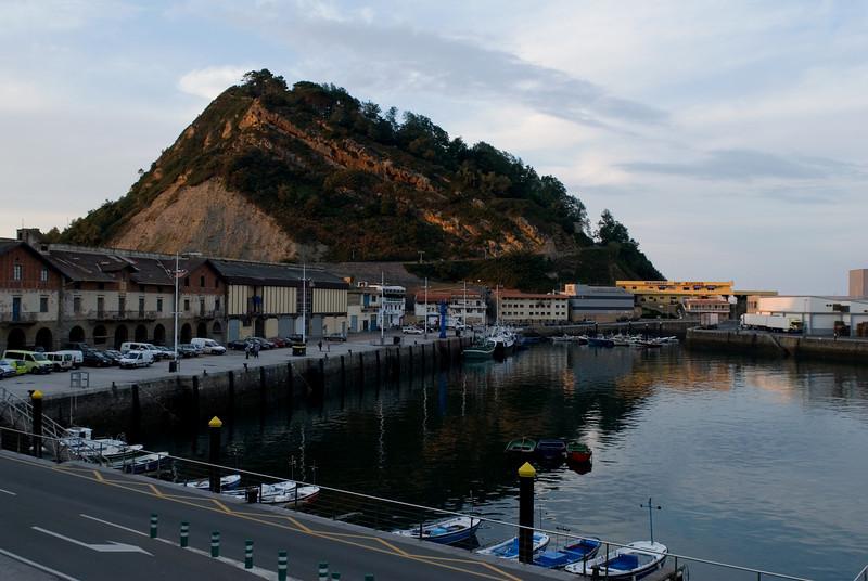 Getaria, a small fishing village south of San Sebastin