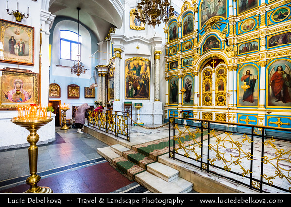 Europe - Belarus - Belorussia - Minsk - Trinity Hill - Trinity Suburb - Trojeckaje Pradmiescie - Oldest surviving district of Minsk - Historic neighbourhood sprawling along left bank of Svislach River - Holy Spirit Cathedral - Кафедральны сабор Сашэсця Святога Духа - Iconic landmark & Central cathedral of Belarusian Orthodox Church