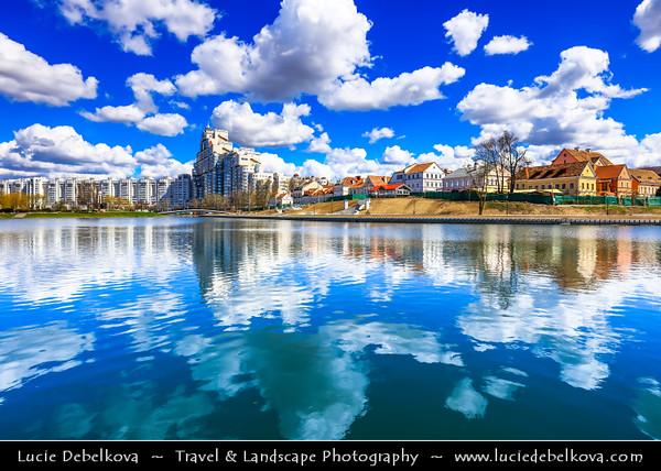 Europe - Belarus - Belorussia - Minsk - Trinity Hill - Trinity Suburb - Trojeckaje Pradmiescie - Oldest surviving district of Minsk - Historic neighbourhood sprawling along left bank of Svislach River