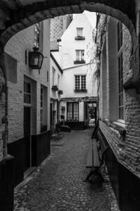 Ancient Street, Antwerp, Belgium, 2010