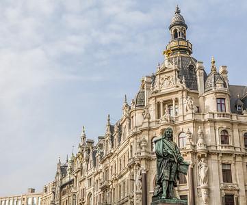 Ornate Building, Antwerp, Belgium, 2010