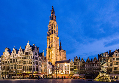 Main Plaza, Antwerp, Belgium, 2010