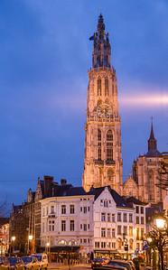 Cathedral Tower, Antwerp, Belgium, 2010