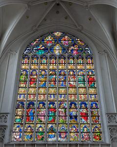 Stained Glass, Antwerp, Belgium, 2010