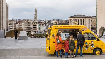 Waffle Wagon, Brussels, Belgium, 2010