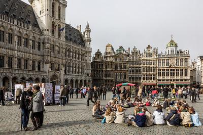 Grand Pla, Brussels, Belgium, 2010