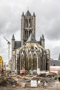 Cathedral, Ghent, Belgium, 2010
