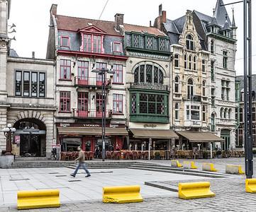Plaza, Ghent, Belgium, 2010