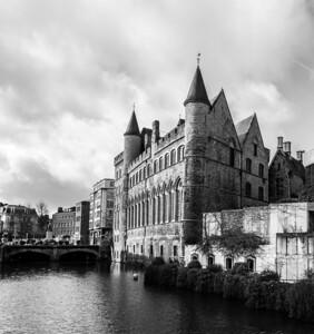 Turrets, Ghent, Belgium, 2010