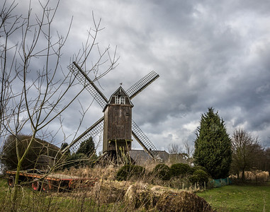 Windmill, Waterloo, Belgium, 2010