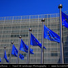 Belgium - Brussels - Bruxelles - Brussel - Modern EU Headquarters - Building of the European commisson
