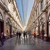 Galeries Royales Saint-Hubert, Rue des Bouchers, Brussels, Belgium