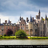 Europe - Belgium - Flanders - Antwerp Province - Bornem Castle - De Marnix de Sainte-Aldegonde Castle on banks of Scheldt River