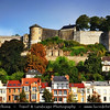Europe - Belgium - Wallonia - Namur - Namur Citadel - Castle of Namur - Fortress at confluence of Sambre & Meuse rivers