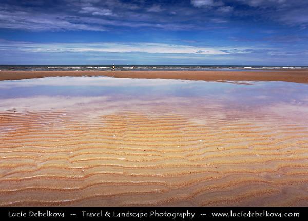 Belgium - Sandy Beach at North Sea