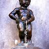 Belgium - Brussels - Bruxelles - Brussel - Mannekin Pis Statue - Little Man Urinating - Petit Julien - Famous Brussels landmark