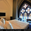 Europe - Belgium - Wallonia - Hainaut Province - Mons - European Capital of Culture 2015 - Hotel Dream in former chapel in the city centre of Mons