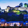 Europe - Belgium - Wallonia - Namur - Namur Citadel - Castle of Namur - Fortress at confluence of Sambre & Meuse rivers