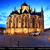 Europe - Belgium - Wallonia - Hainaut Province - Mons - European Capital of Culture 2015 - Collegiate Sainte Waltrude - Church of Brabant Gothic style dedicated to St. Waudru - patron saint of the city of Mons