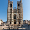 Cathedral of St Michael and St Gudula, Brussels, Belgium