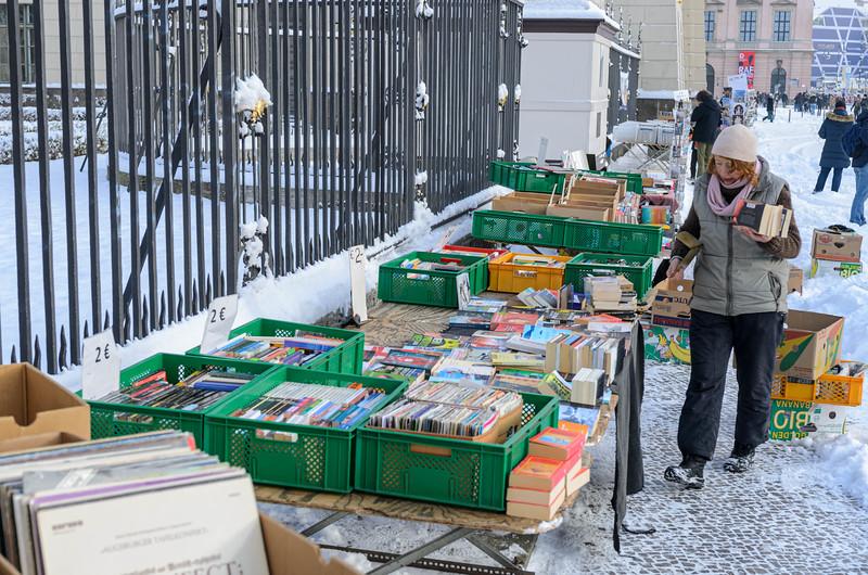 Outdoor Book Sale on Unter den Linden