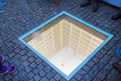 Memorial to May 10, 1933 Nazi Book Burning in Bebelplatz.