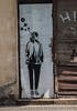 Street art on Neustadtische Kirchstrasse