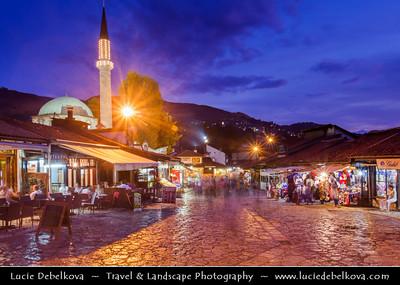 Europe - Bosnia and Herzegovina - Sarajevo - Сарајево - Capital city - Historic centre