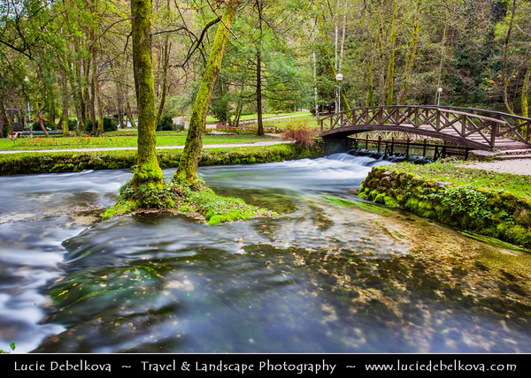 Europe - Bosnia and Herzegovina - Sarajevo - Сарајево - Vrelo Bosne - Spring of River Bosna - One of country's top natural locations