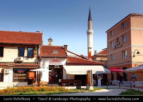 Europe - Bosnia and Herzegovina - Sarajevo - Сарајево - Capital city - Bascarsija district - Baščaršija - Sarajevo's old bazaar & historical and cultural center of the city