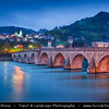 Europe - Bosnia and Herzegovina - Višegrad - Visegrad - Mehmed Paša Sokolović Bridge - UNESCO World Heritage Site - Most Mehmed-paše Sokolovića - Мост Мехмед-паше Соколовића - Old Stone Bridge across the Drina River built in Ottoman style