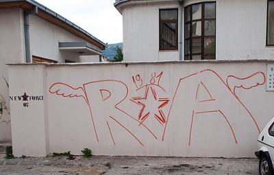 Graffiti, Mostar