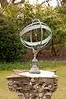 Garden sundial, Avebury Manor, Avebury, Wiltshire, England.