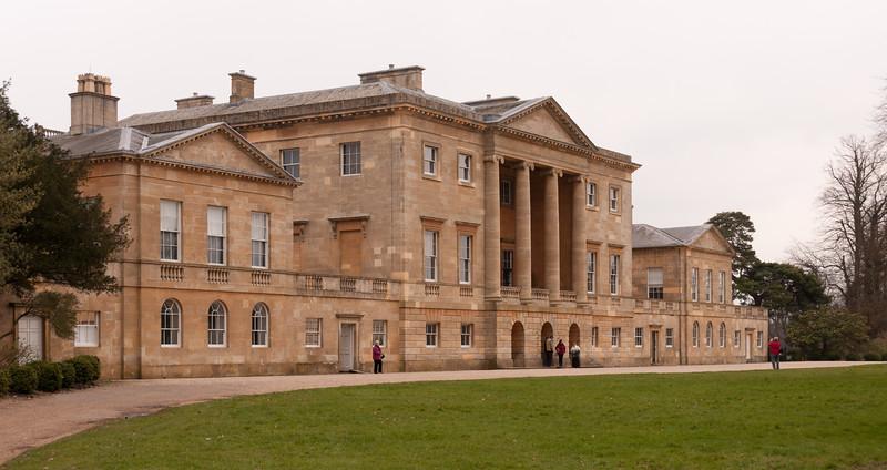 Basildon Park manor house, Berkshire, England.