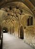 Lacock Abbey cloister walk