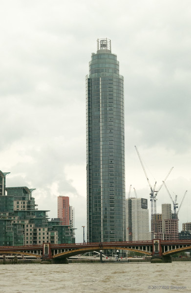 London has long been a low-rise city, with nothing higher than St Paul's, but no longer. Skyscrapers are going up all over the city.