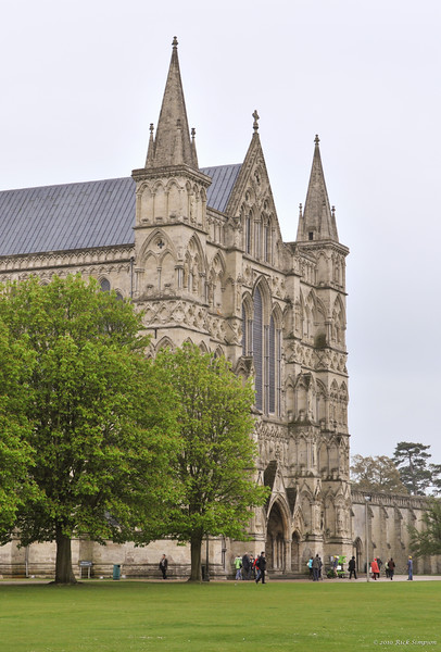 Salisbury Cathedral west face