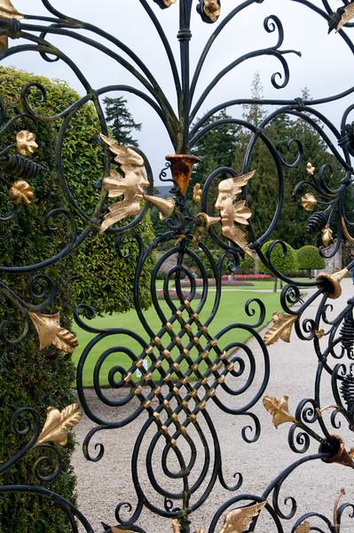 Gate to the flower garden