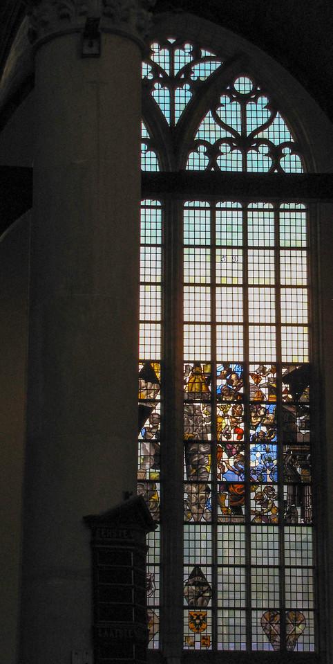 "Oude Kerk (""Old Church""), Amsterdam."