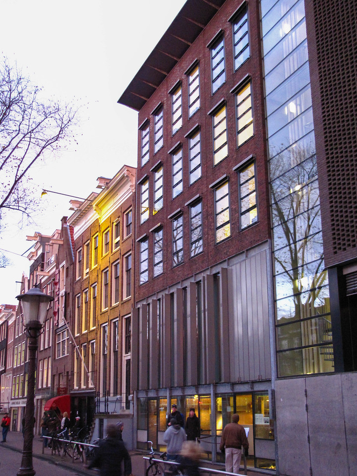 Anne Frank House, Amsterdam. Today it is a musem.