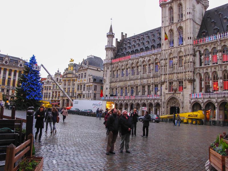 Hôtel de Ville in Brussels.