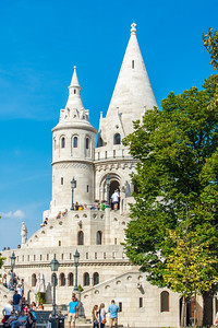 Tower of the Fisherman's Bastion.