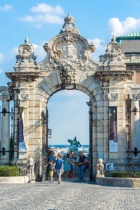 Entrance to the Buda Castle