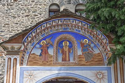 entrance Rila Monastery