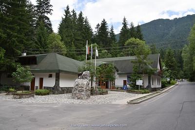 """visitors center for """"Seven Rila Lakes"""""""