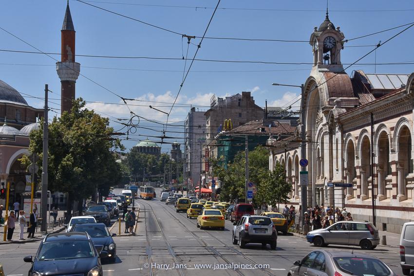 Sofia main street