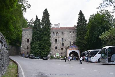 entrance Rila Monastery (14th century)